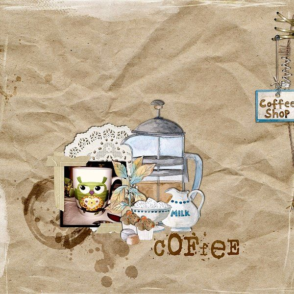 Coffee break Collection by Dawn Inskip Designs at The Lilypad   http://the-lilypad.com/store/Coffee-Break-Collection.html