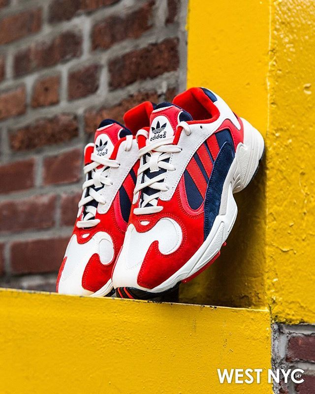 5169ff93b0ea0 Reimagining the late '90s-era @adidas Falcon Dorf, the Yung-1 offers an  authentic, creative take on retro nostalgia. This version echoes true '90s  style ...