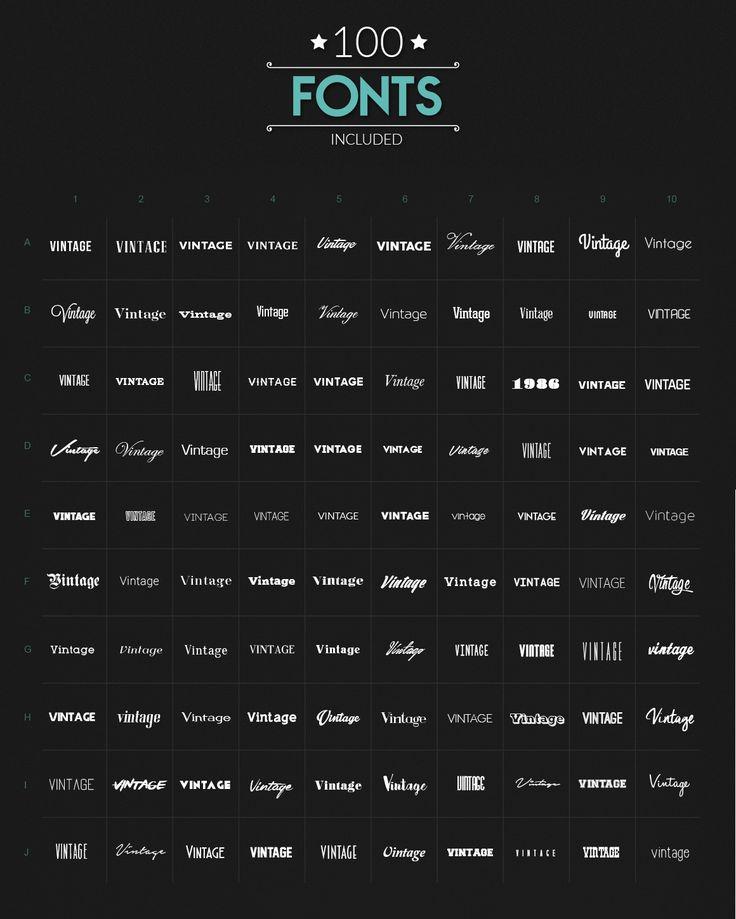 Logo Generator by Graphicboom on @creativemarket