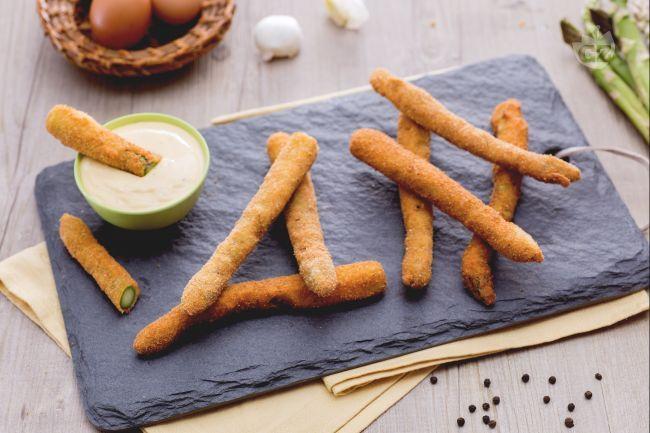 frittura di asparagi