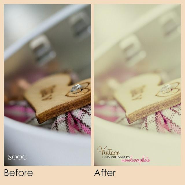 Creating Vintage Effect in Lightroom 4