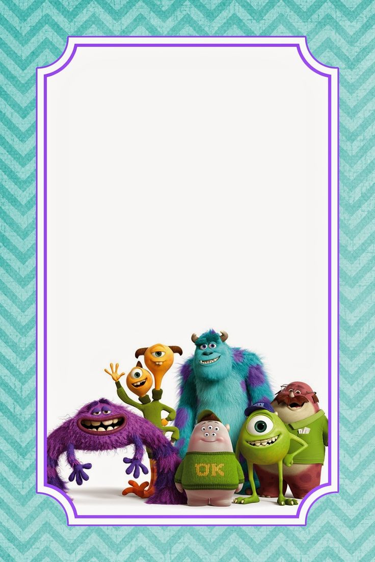 Download FREE Monster Birthday Invitations