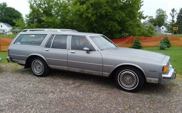 Exclusive 1983 Chevrolet Caprice Station Wagon Survivor Chevrolet Caprice Station Wagon Station Wagon Cars