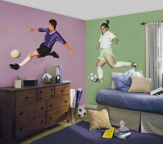 soccer bedrooms | Soccer Room Decor | Interior Design For The Bedroom