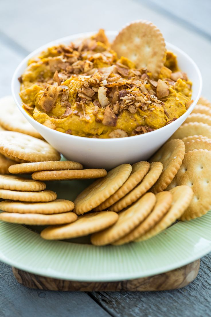 Vegan Chickpea Cheddar Coconut Bacon Dip