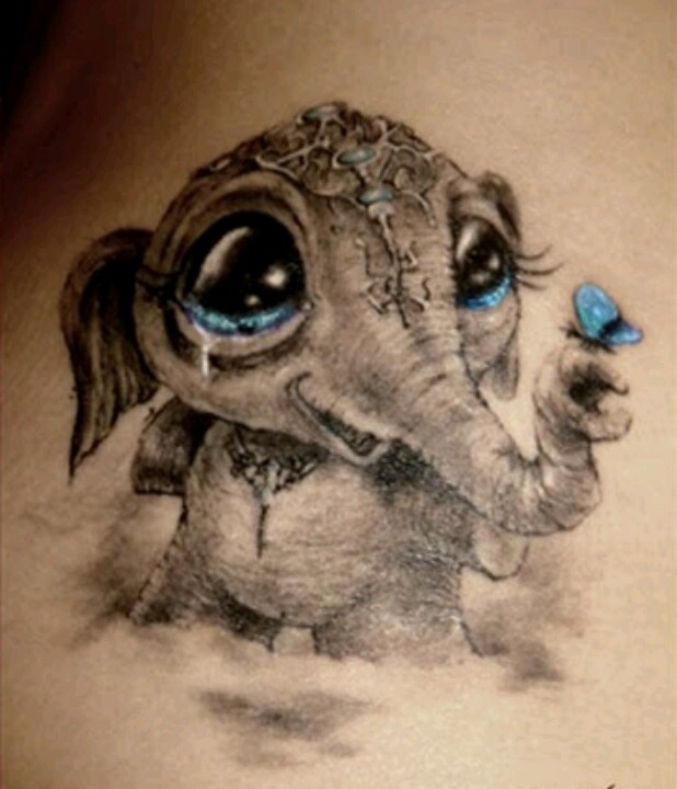 This is the best Hindu tattoo I've seen.