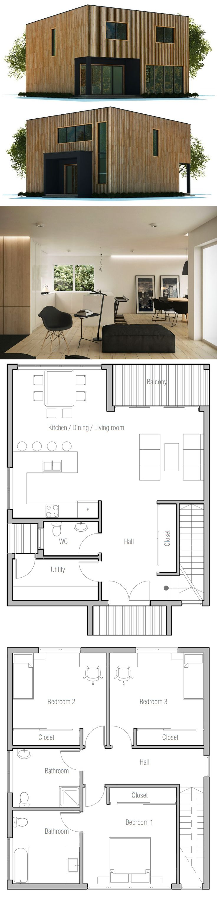 Pleasant 1000 Images About Building Plans On Pinterest Small House Plans Largest Home Design Picture Inspirations Pitcheantrous