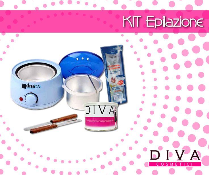 Sempre in ordine con il kit epilazione di Diva Cosmetici: scaldacera professionale, barattolo cera liposolubile al miele, spatola stendicera in metallo e pacchetto strisce epilatorie pretagliate Scoprilo in offerta sul nostro sito : http://www.divacosmetici.com/558-kit-epilazione-.html    #ceretta #newlook #depilazione #beauty #Skincare #Cosmetics #Skin #Lipstick #Hair #BeautyBlogger #Valentines #Eyeshadow #MakeupTutorial #Lips  #BeautyTips