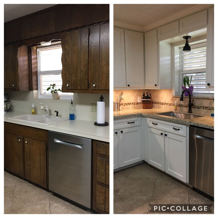Remodel of our 1970's kitchen | Kitchen cabinets, Kitchen ...