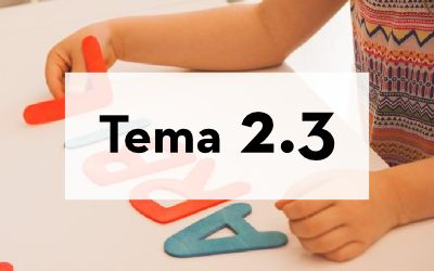 2.3  La mente absorbente y los periodos sensibles. Crisis del desarrollo