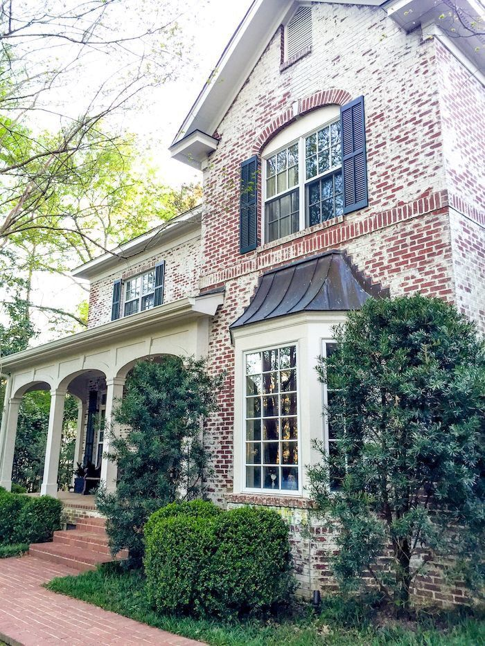 9 Best Whitewash Brick Images On Pinterest Whitewashed Brick Brick Homes And Exterior Homes
