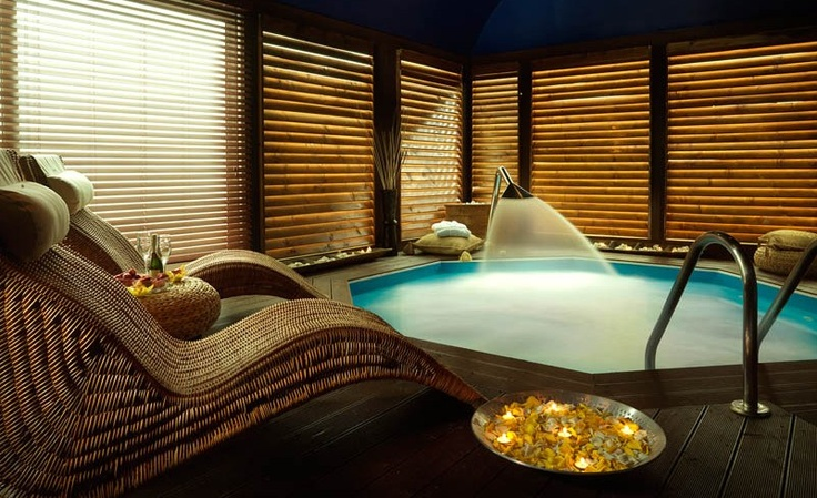 our jacuzzi at nilaya spa, athens greece