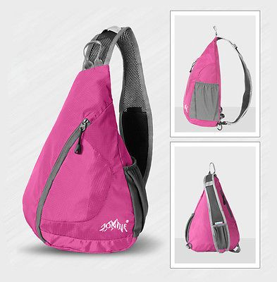 Unisex Outdoor Shoulder Sling Backpack Small Hike Run Cross Body Sport Camp Bag