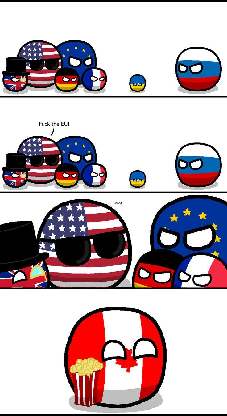 EU v. Russia in Ukraine | countryball/polandball ...