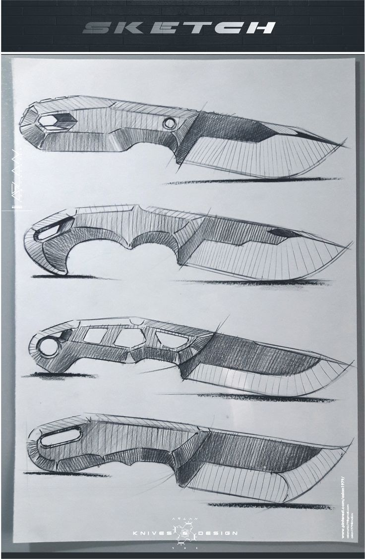Line Art Knife : Knives my sketches pinterest more and