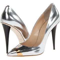 Giuseppe Zanotti E46055.  Nice contrast on toe - only gold would fit