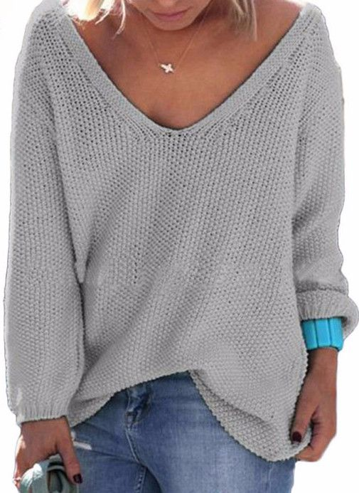 Best 25  Women's v neck sweaters ideas on Pinterest | Casual work ...