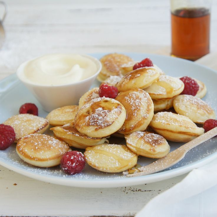 It doesn't have to morning to enjoy these Little Dutch Pancakes by AngelDust.