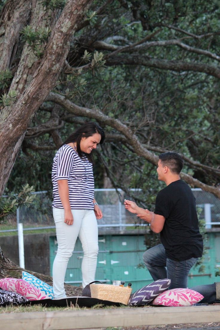 Me playing hidden photographer while my friend proposed to his girlfriend (now his wife!) - January 2014