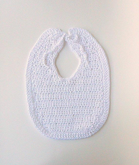 Crochet Cotton Baby Bib Pattern : 17 Best images about Crochet baby bibs on Pinterest ...