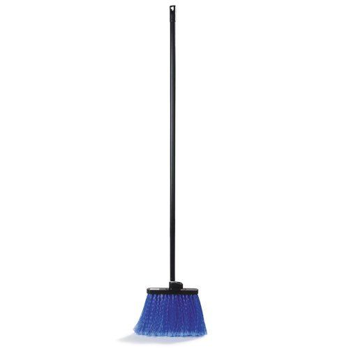 "Duo-Sweep Light Industrial Broom, Black, 48"" by Duo Sweep. $9.74. Made in USA. Material: Synthetic. Overall Length: 48"". Bristle Trim Length: 5"". Color: Black. Carlisle Duo-Sweep Light Industrial Broom, Black, 48""Two handle holes molded into a sturdy foam block off two ergonomical positions to sweep in. Straight for general sweeping or it can quickly convert into an angled broom for reaching into corners, along walls, or into hard to reach areas.Overall Length: 48"" Color: Bla..."