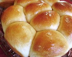 Like Logan's Roadhouse Dinner Rolls- These were amazing, made them last night.  Carter, Cole and Greg loved them.