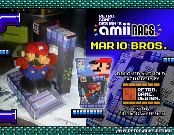 30th Ann. Modern 8-Bit Mario Bros AmiiBac