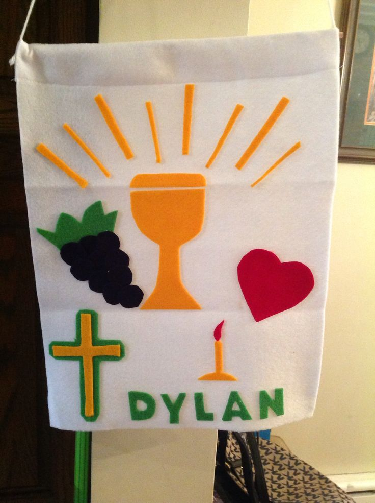 24 best images about first holy communion ideas on for First communion craft ideas