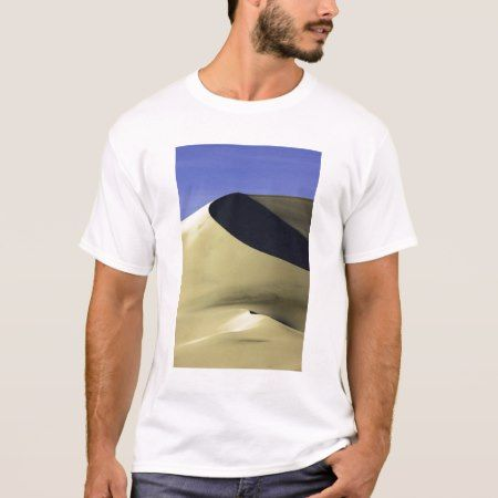 Sand dune at Eureka Valley Dunes in Death Valley N T-Shirt - click/tap to personalize and buy