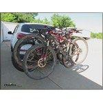 Thule Vertex 4 Swing Hitch Bike Rack Review Video | etrailer.com