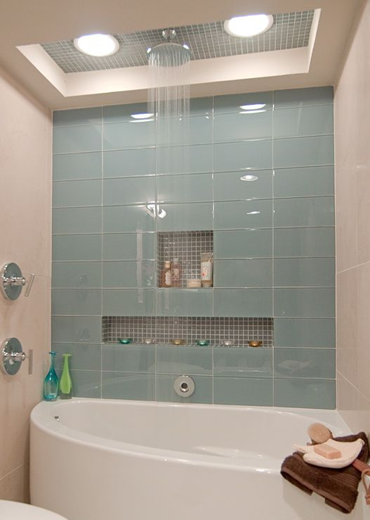 Neptune Wind Bath And Small Alcoves In Tiles For Bath