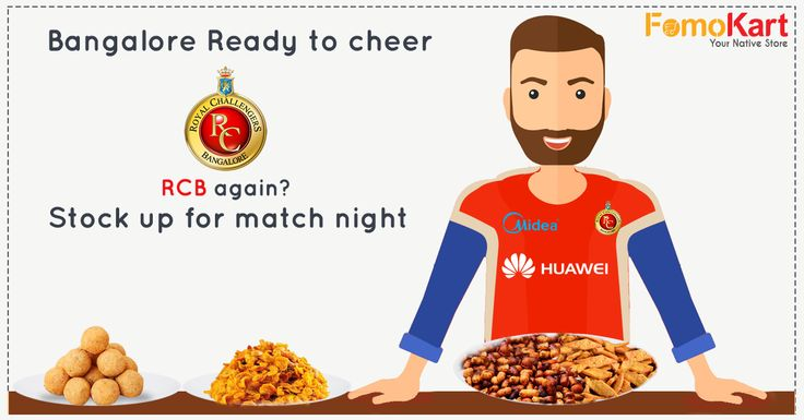 IPL is on, the cricket crazy people are going mad with excitement. We say, why not take your prep a notch higher. Stock up for your match night. Order from Fomokart, sit back & enjoy. ‪#‎Fomokart‬ ‪#‎Bengaluru‬ ‪#‎RCB‬ ‪#‎Homedelivery‬ ‪#‎Snacks‬ Order here - http://www.fomokart.com/snacks