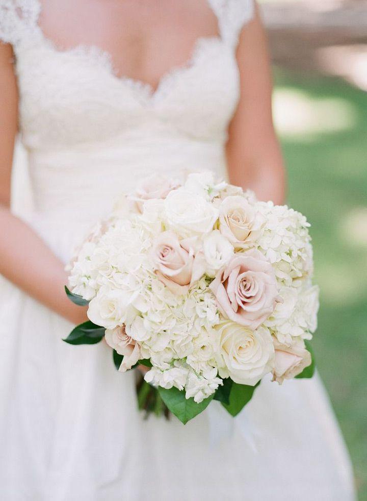 Hydrangea Wedding Bouquet~  we ❤ this! moncheribridals.com