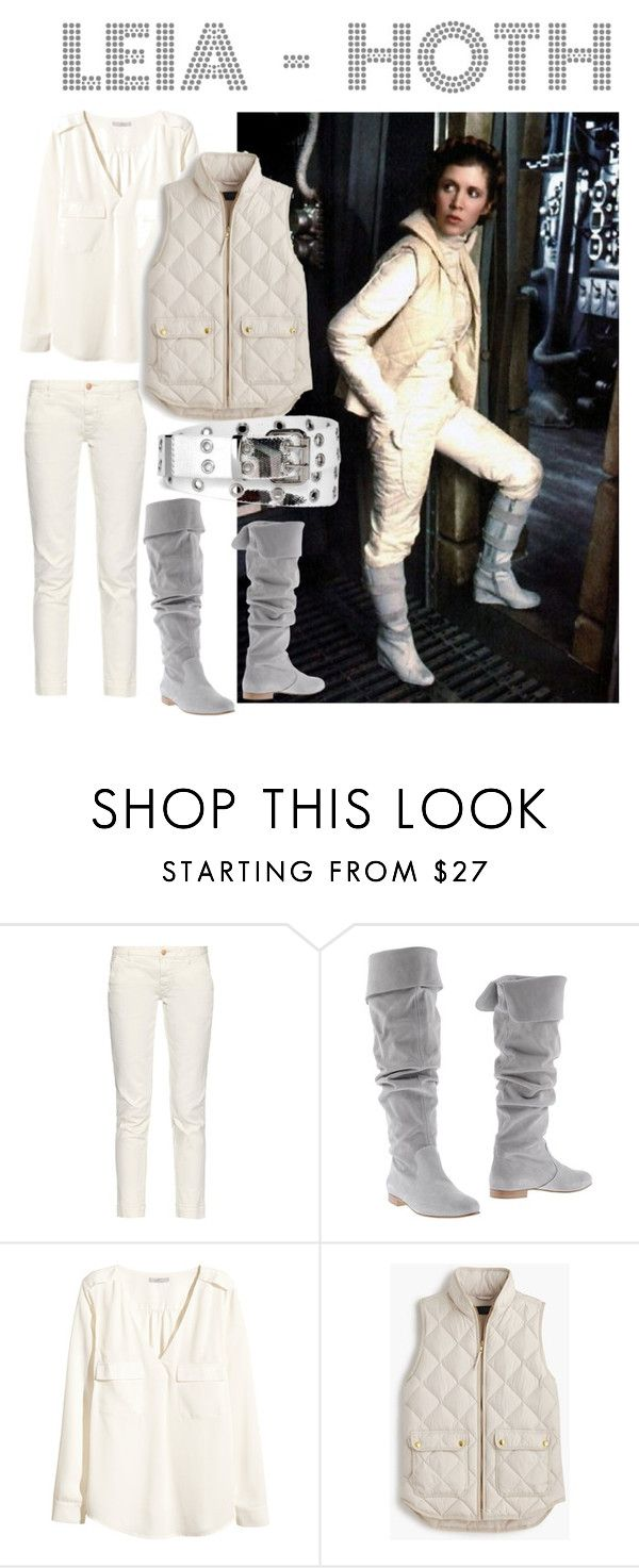 Leia-Hoth || Leia Organa Solo by star-wars-forever on Polyvore featuring H&M, J.Crew, Earnest Sewn, Relic, Jadebounds and LeiaOrganaSolo