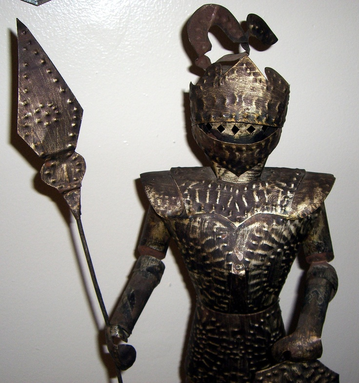 Evil Knight | Knight, Metal Knight Statue, Mid Evil Decor, Knight and Shining Armor