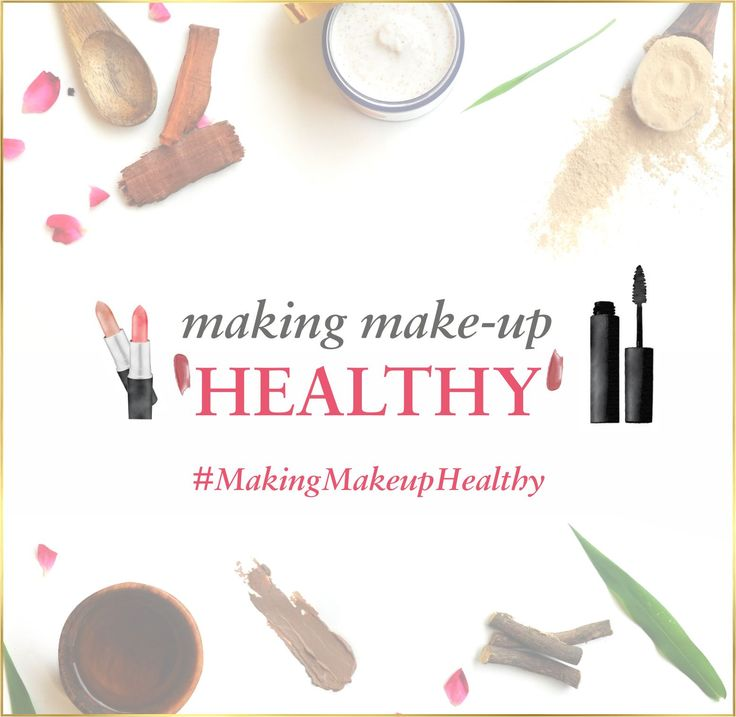 We want to inject a dose of healthy skin-friendly fatty acids, plant oils and minerals into your makeup-routine. We want to 'make your makeup healthy'. We don't just want this to be a hashtag but a movement. So tag a friend and spread the word. #makingmakeuphealthy