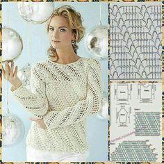 Crochet blouse#