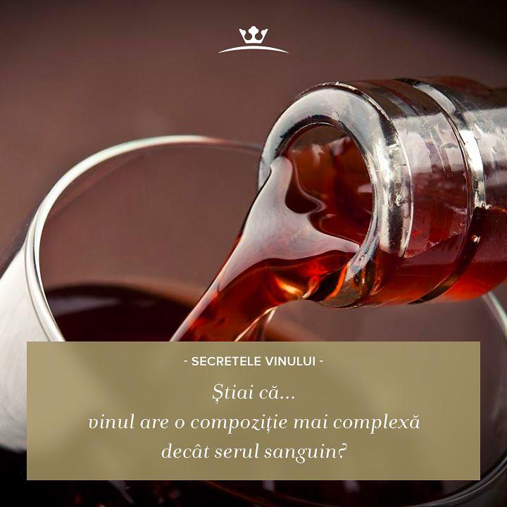 Poate nu știai că vinul are în compoziția sa peste 250 de compuși organici - ceea ce îl face să fie mai complex decât serul sangvin!