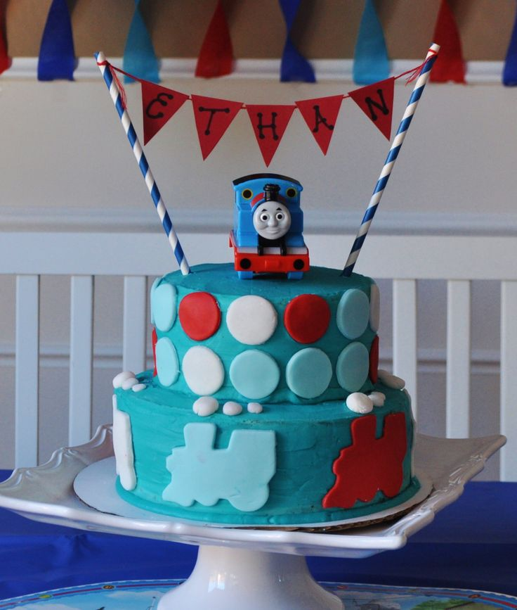 Thomas and Friends birthday cake #traincake #trainbirthday