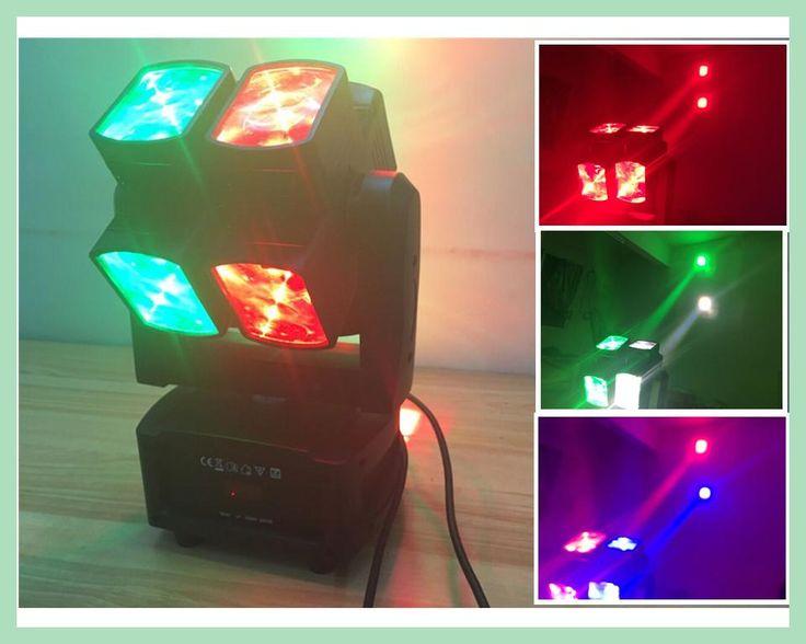 2017 mas ultimo diseno RGBW 4N1 LED 8x12W DJ LED que sacude la cabeza DMX16 / 23 canal Disco etapa iluminacin LED