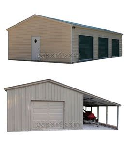Carports, Metal Garages, Portable Buildings, Guardhouses