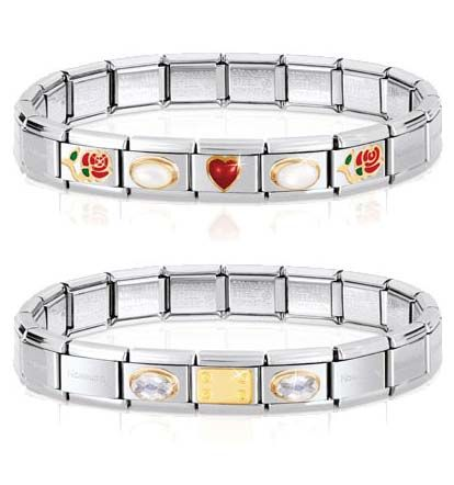 Start with one link... then just keep adding! Nomination bracelets allow you to create a great look whatever your budget. Like our Facebook page to get design inspiration: https://www.facebook.com/InutiDesignerJewelleryLtd