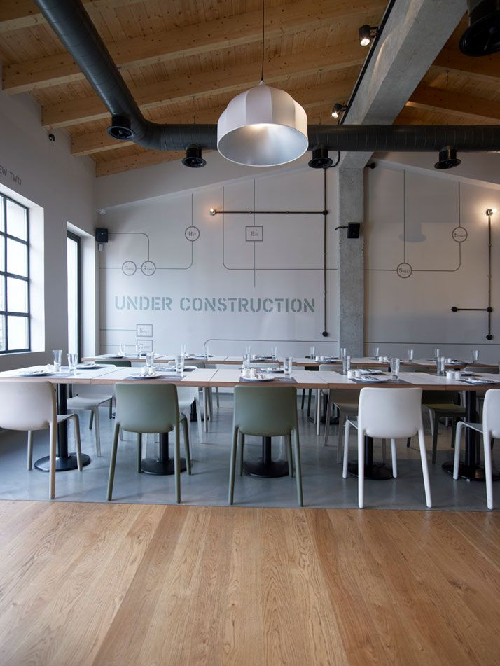 9 best images about minimalist restaurant design on for Vintage minimalist interior design