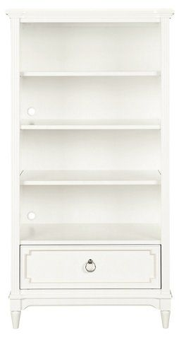 Clementine Court Bookcase White Now 629 00 Was 705 00 My Glam