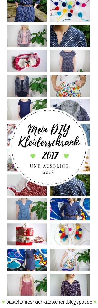 Meine DIY Kleiderschrank ♥ Rückblick 2017 - Übersicht aller meiner selbst genähten Kleidungsstücke - Mode für Frauen selber machen! ♥