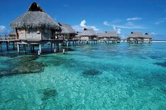 Tahitian Huts