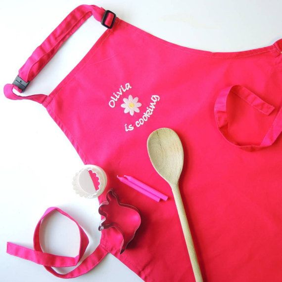 47 best personalized baby gifts online images on pinterest baby kids personalised embroidered apron negle Gallery