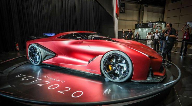 Nissan VGT 2020 concept, vision del superauto del futuro: http://automagazine.ec/