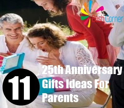 25th anniversary gifts for parents online dating