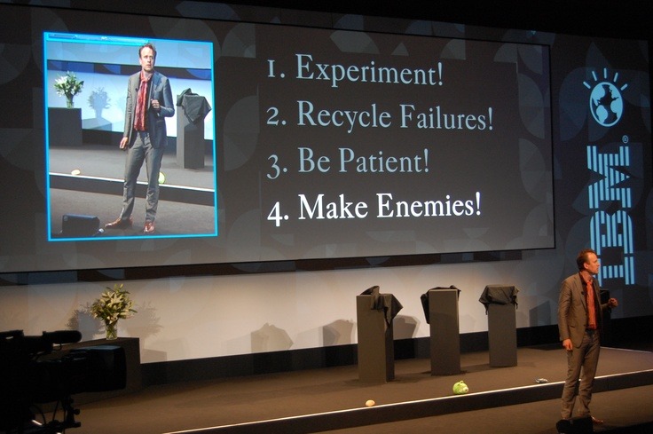 Do you want to create something new or just compete? asks @Trendymagnus